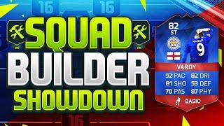 FIFA 16 SQUAD BUILDER SHOWDOWN!!! RECORD BREAKER JAMIE VARDY!!! RB Vardy Squad Builder Duel