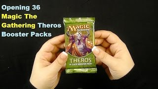 Binaural Opening 36 Magic The Gathering Booster Packs: Unboxing  ASMR In The Land Of Theros
