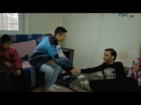 Unconditional support: Chinese expat in Turkey supports Syrian refugees