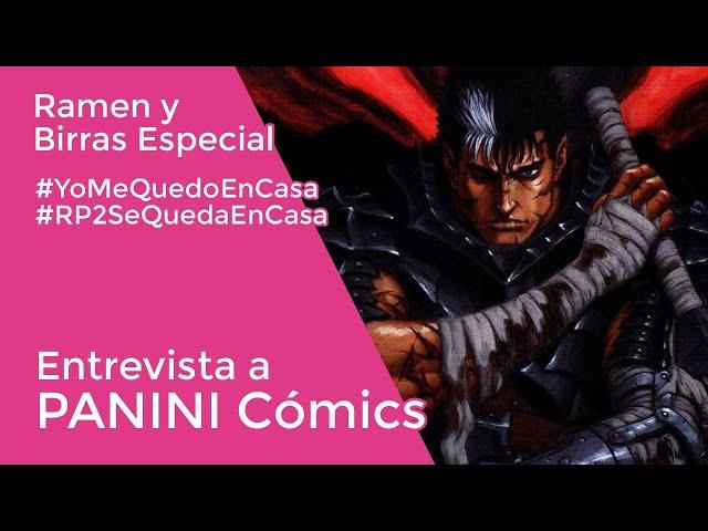 ENTREVISTA A PANINI CÓMICS con Daniel Rodriguez