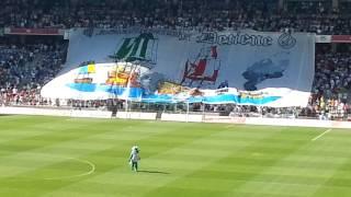 Córdoba cf - Mallorca .7/6/2014 .Himno cantado. Clasificacion playoff