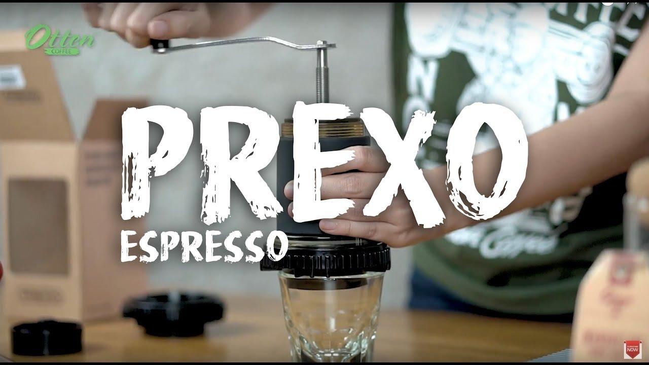 Coffee Maker Yang : Prexo Portable Espresso Coffee Maker - YouTube