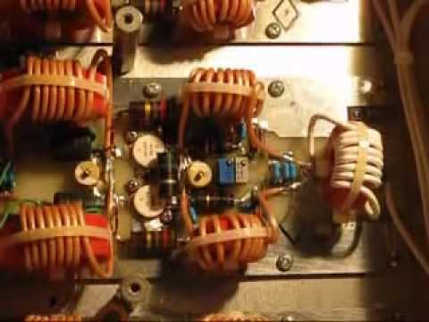 High power RF amplifier teardown video