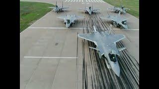 China's J-20 Stealth Fighter Enhances Fighting Capacity via Various Trainings