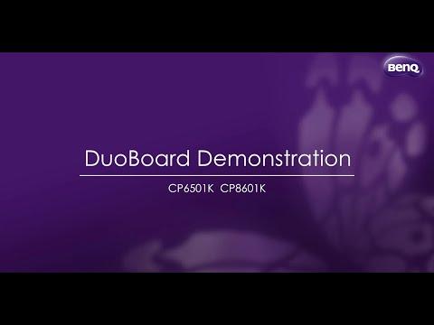 DuoBoard Interactive Flat Panel Demo Video