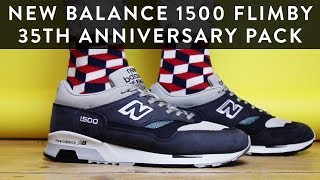 New balance 1500 flimby 35th anniversary pack | sneaker unboxing | the new collections | llomotes