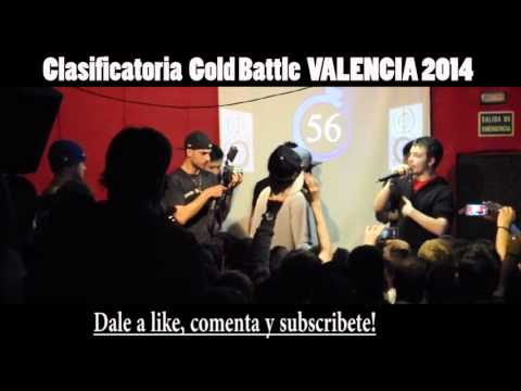 Mr. Ego VS Xopi Final GOLD BATTLE VALENCIA 2014