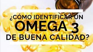 ¿Cómo identificar un Omega 3 de buena calidad? DEMOSTRACIÓN