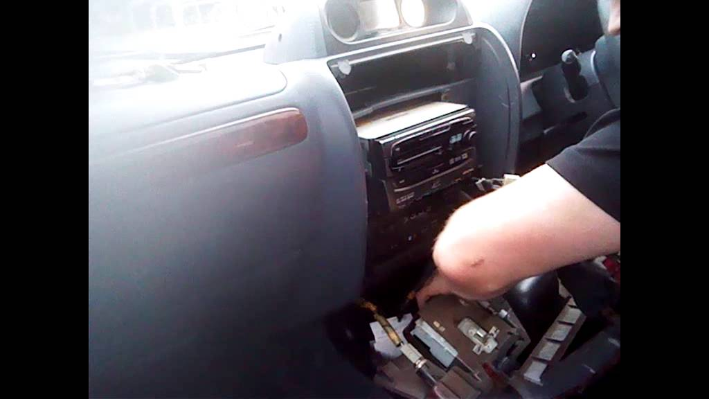 radio removal toyota land cruiser  1994