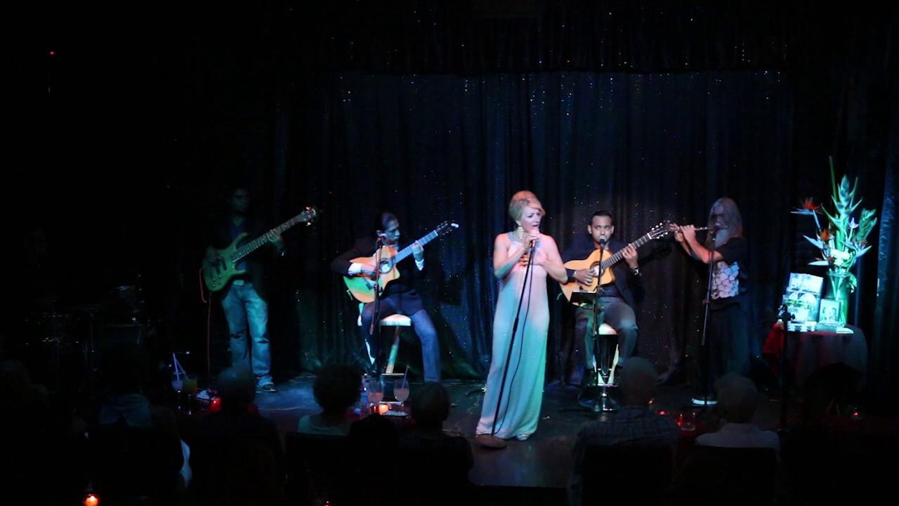 Kim Kuzma With Acustico At The Palm Cabaret Amp Bar Youtube