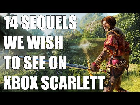 14 Sequels We Wish To See On Xbox Scarlett
