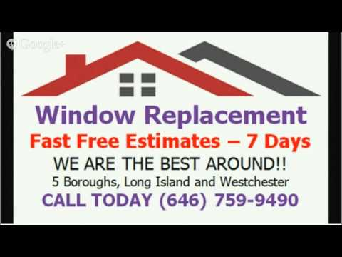 window replacement contractors manhattan