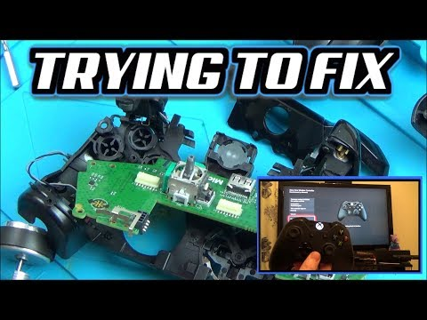 Trying To FIX: Xbox One Controller A,X & Y Buttons NOT Working