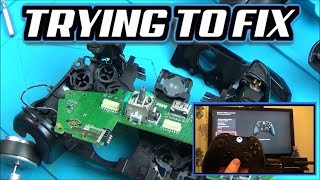 Trying to FIX: Xbox One Controller A,X & Y Buttons NOT Working Video