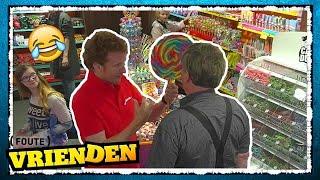 SUGAR RUSH in de snoepwinkel!  - FOUTE VRIENDEN