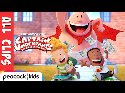 Thumbnail: Captain Underpants ALL CLIPS Official | CAPTAIN UNDERPANTS: THE FIRST EPIC MOVIE
