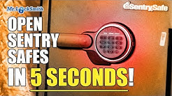 Open Sentry Safe in less than 5 seconds! | Mr. Locksmith™ Video