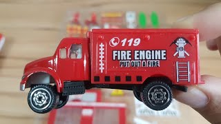 Fire Trucks for Kids with fire station playset Toys Fire Truck for Kids