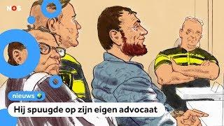 Grote rechtszaak tegen de man van de aanslag in de tram