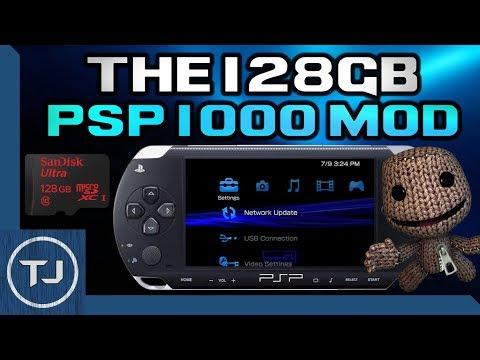 The 128GB PSP MOD! (High Capacity PSP Memory Stick)