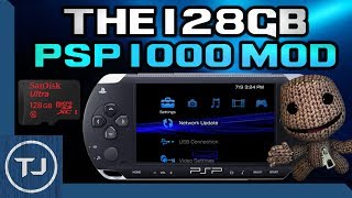 The 128GB PSP MOD! (High Capacity PSP Memory Stick) 2017!