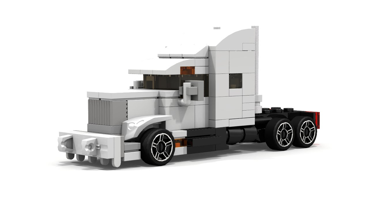 simple lego mini semi truck instructions youtube. Black Bedroom Furniture Sets. Home Design Ideas