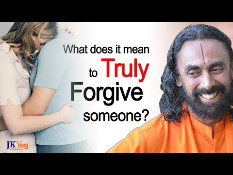 What does it mean to Truly Forgive Someone? | Q/A with Swami Mukundananda