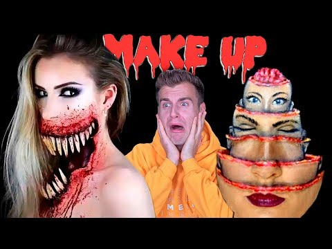 Make Up Artists Creates Unreal Illusions For Halloween!