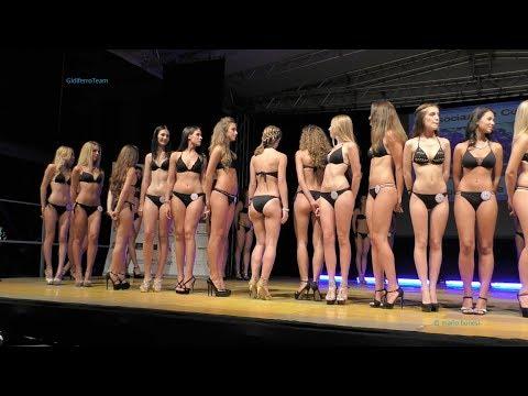 Miss Città di Marghera 2017 Sfilata in Abito e Bikini Prima parte