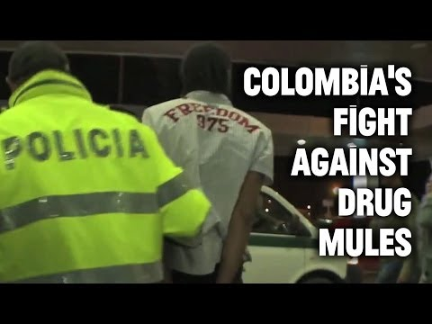 Inside Colombia's fight against drug mules