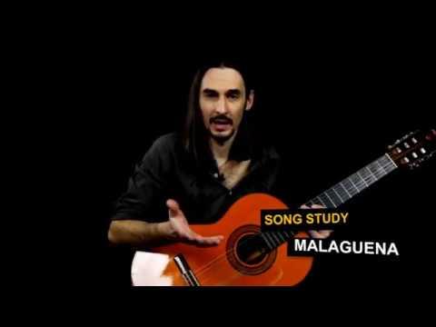 Malaguena Guitar Lesson - Easy Classical Flamenco Song