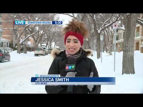 LIVE reporting on the March snow storm - CTV Regina