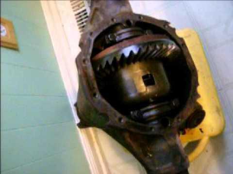 Rear End Gears >> GM 12 BOLT POSITRACTION REAREND - YouTube