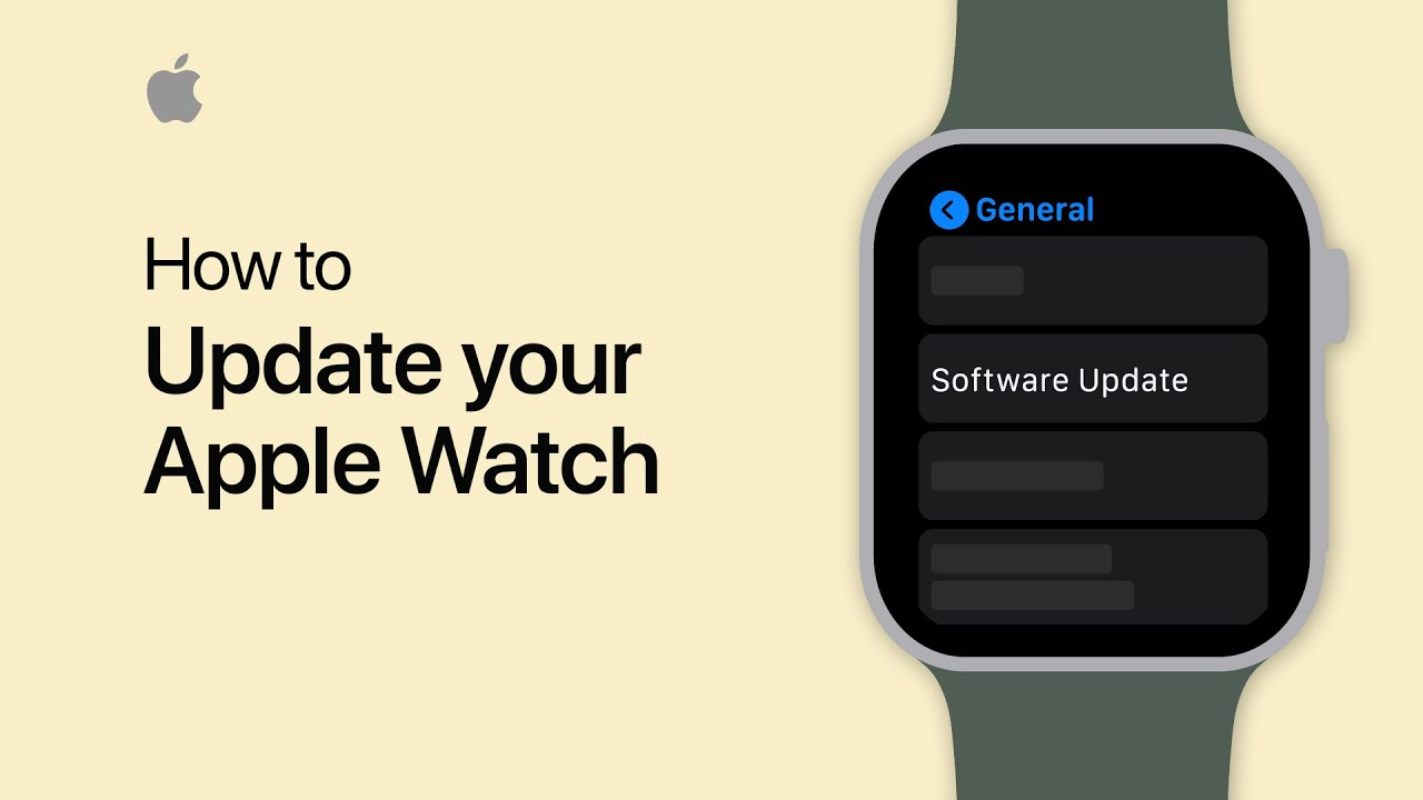 How to update your Apple Watch — Apple Support