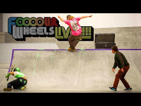 Jamie Foy vs Evan Smith  |  FOOOOUR WHEELS LIVE!
