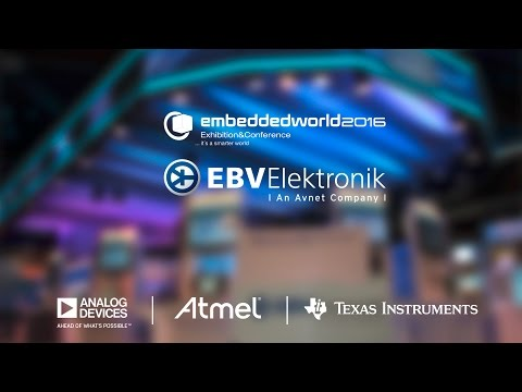 EBV @ Embedded World 2016 Live: Introducing our Suppliers - Part 1