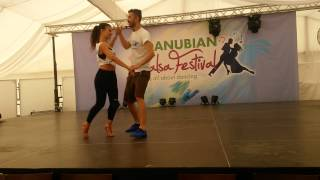 Panagiotis & Myrto -  On2 Workshop @ Danubian Slasa Festival 2015