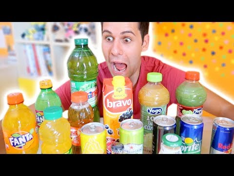MYSTERY DRINK CHALLENGE