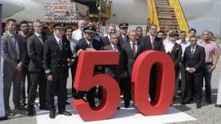The making of Emirates' 50th Airbus A380 | Timelapse | Emirates Airline