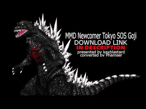 GODZILLA TOKYO S.O.S. MMD DOWNLOAD LINK