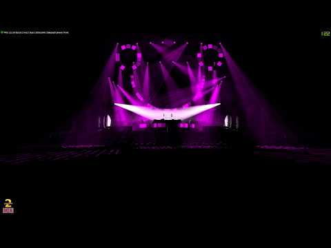 GrandMa2 on PC-show| Martin Garrix Ultra Music Festival| Fictitious Intro