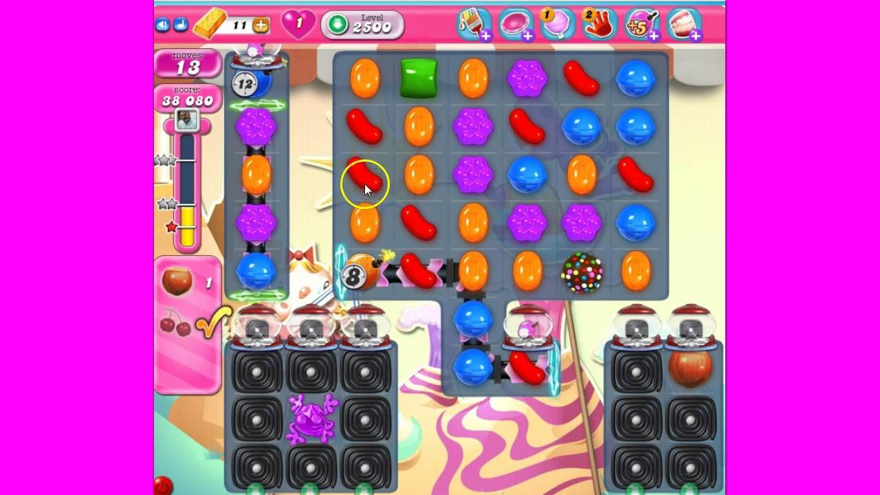 Candy Crush 2500