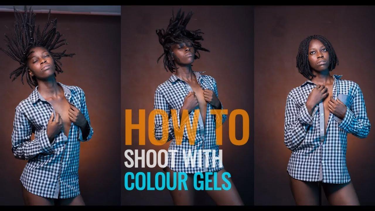 Colour Gel Portrait (Part 1) - A Phloshop BTS Video