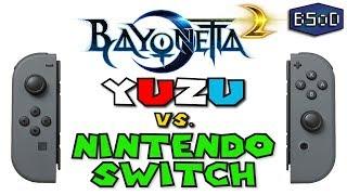 Bayonetta 2 | Yuzu Emulator vs Nintendo Switch - A Visual Comparison [Gameplay] Video