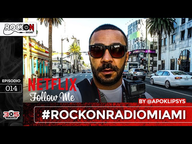 Rock On Radio Episiodio 014 | Asri Bendacha @FollowAsri Creador del Documental Follow Me  de Netflix