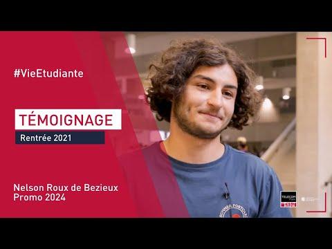 [Rentrée 2021] Témoignage de Nelson Roux de Bezieux