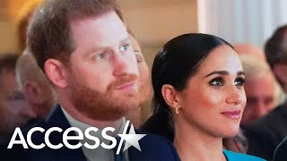 Meghan Markle & Prince Harry Leave Canada For Los Angeles (Reports)