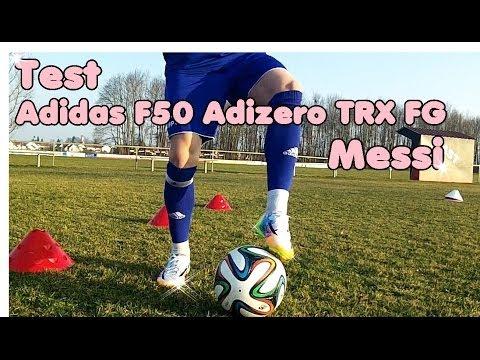 Messi´s Adidas F50 Adizero TRX FG - Review
