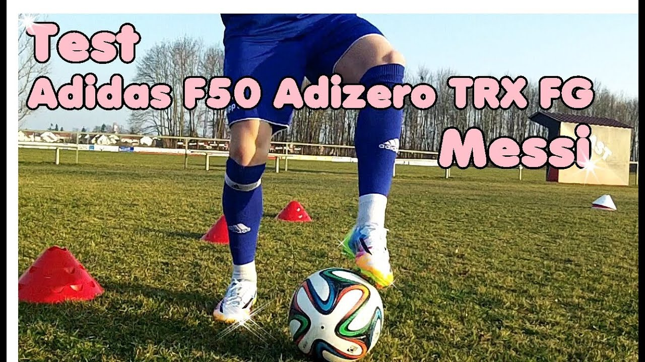 the best attitude ef482 2ca24 Messi´s Adidas F50 Adizero TRX FG - Review