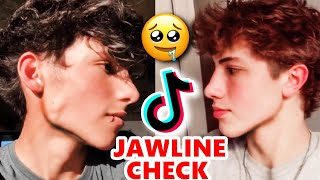 TikTok Boys & Girls: JAWLINE CHECK  🙄💦😍